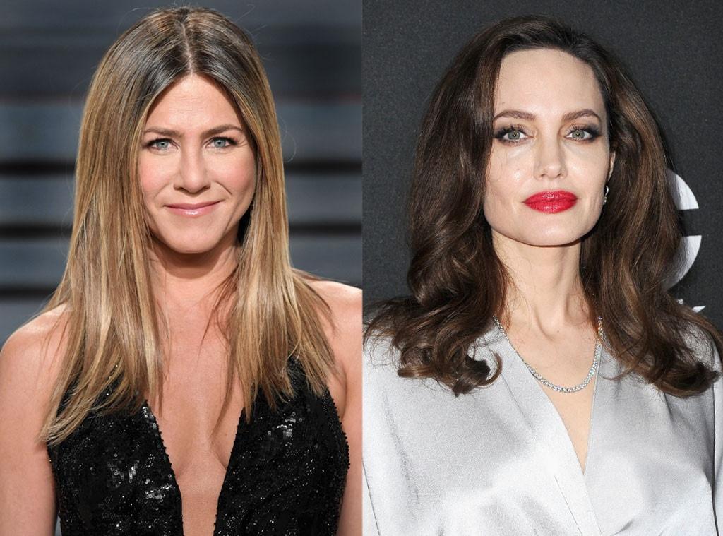 Jennifer Aniston, Angelina Jolie