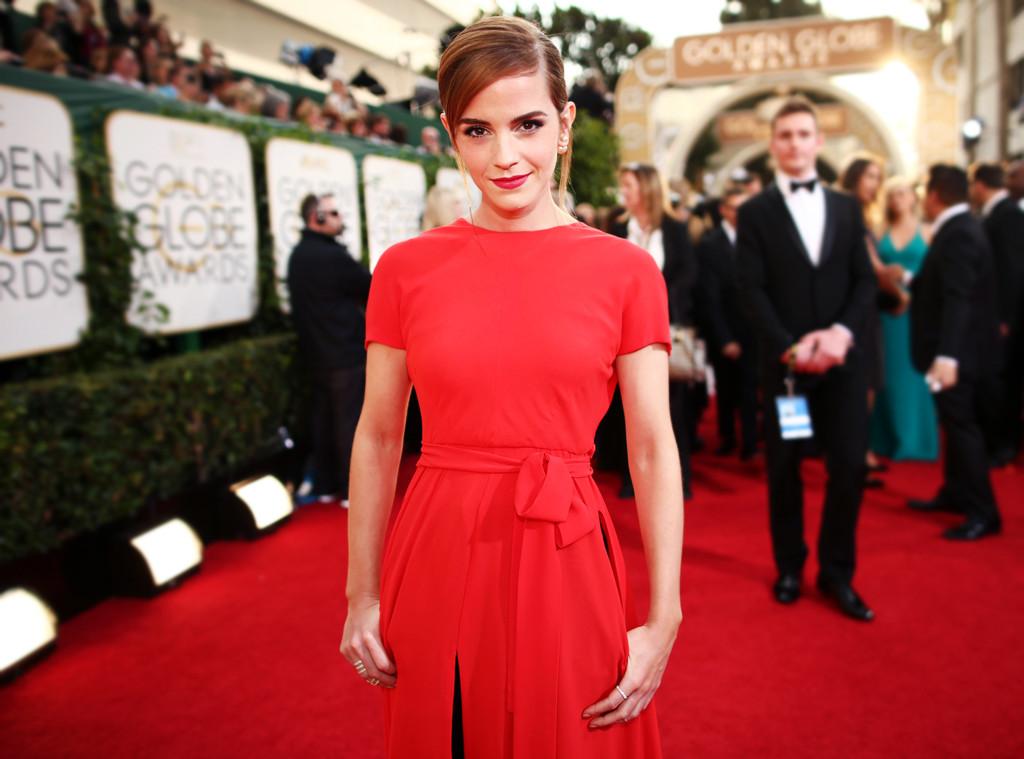 ESC: Golden Globes Dress Stories, Emma Watson