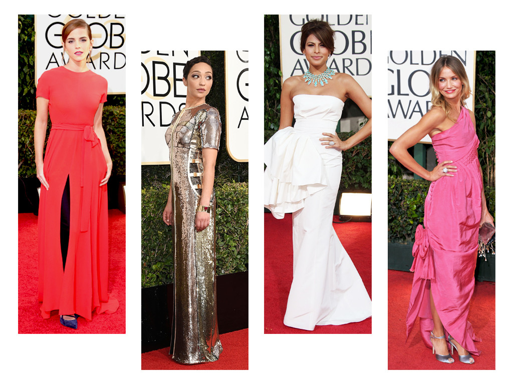 ESC: Golden Globes Dress Stories
