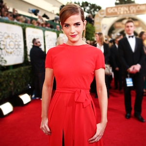 ESC: Golden Globes Dress Stories, Emma Watson