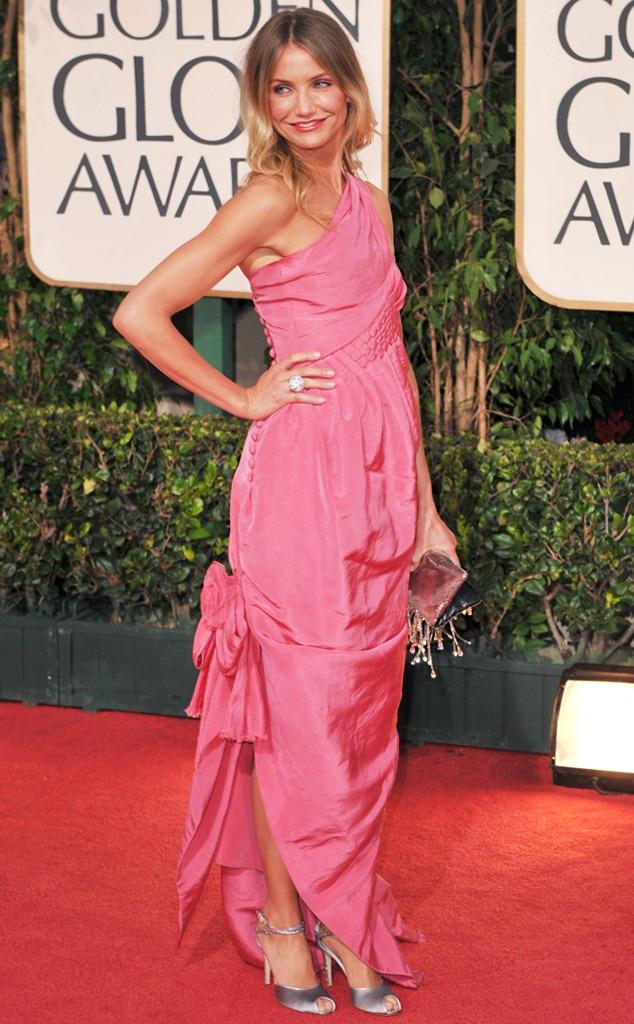 ESC: Golden Globes Dress Stories, Cameron Diaz
