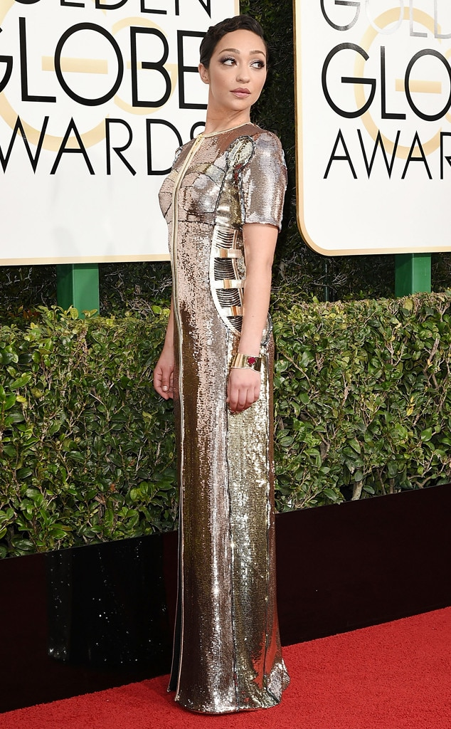 ESC: Golden Globes Dress Stories, Ruth Negga