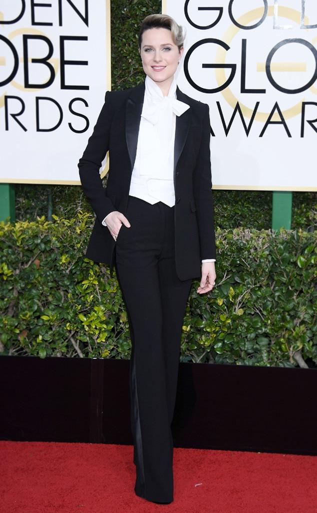 ESC: Golden Globes Dress Stories, Evan Rachel Wood