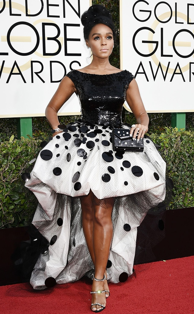 ESC: Golden Globes Dress Stories, Janelle Monae