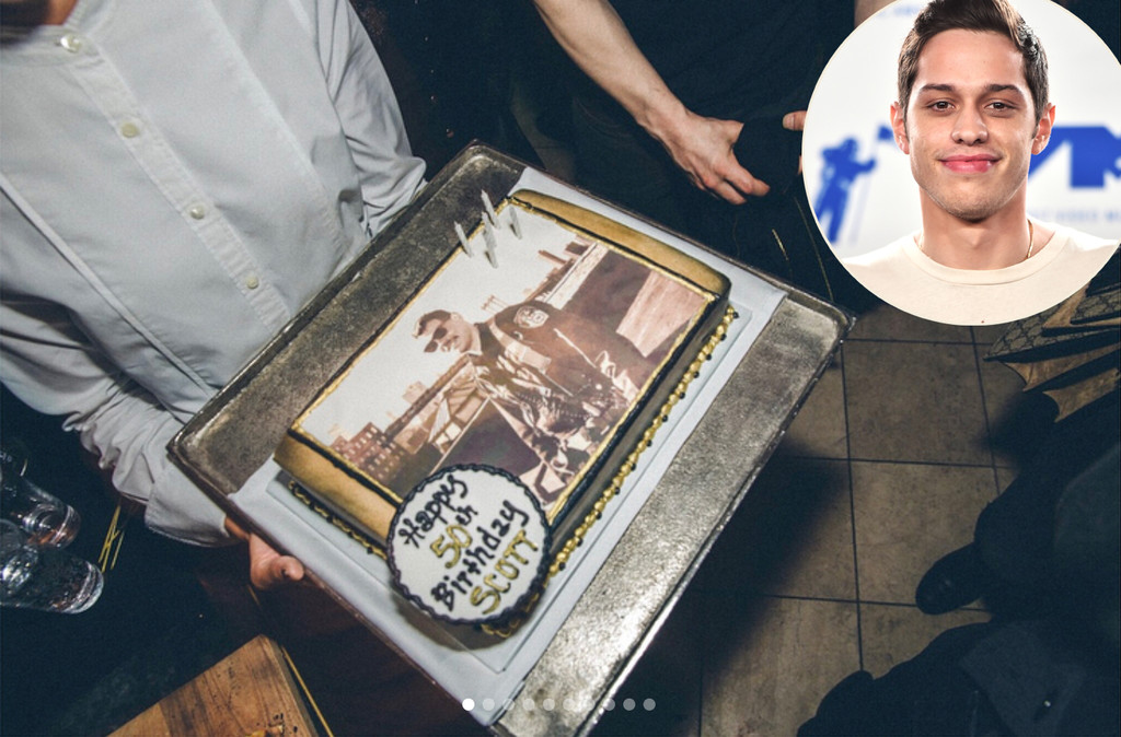 Pete Davidson Honors Late Dad With Star Studded 50th Birthday Party E Online Uk