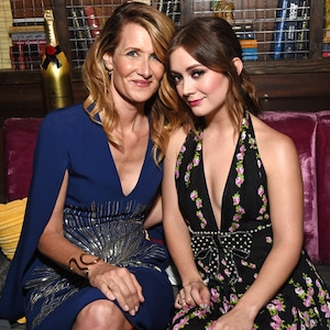 Laura Dern, Billie Lourd, Moet Moment Film Festival