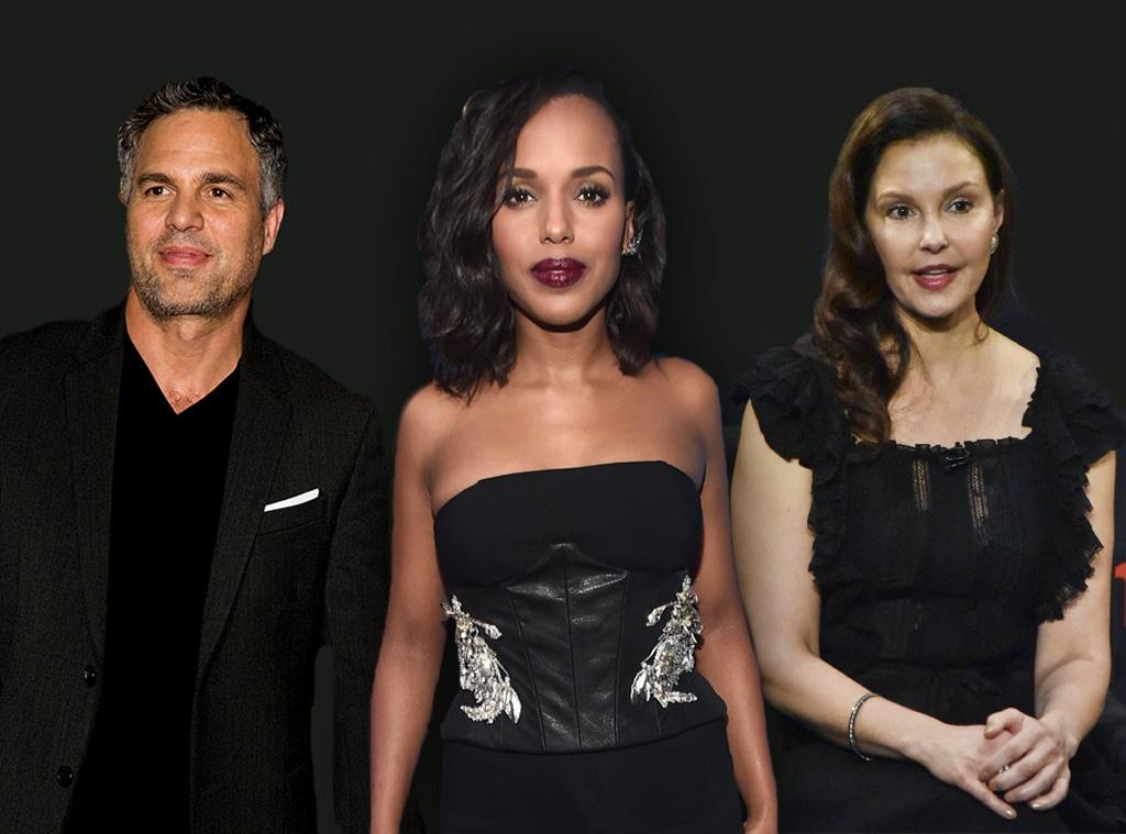 Mark Ruffalo, Kerry Washington, Ashley Judd