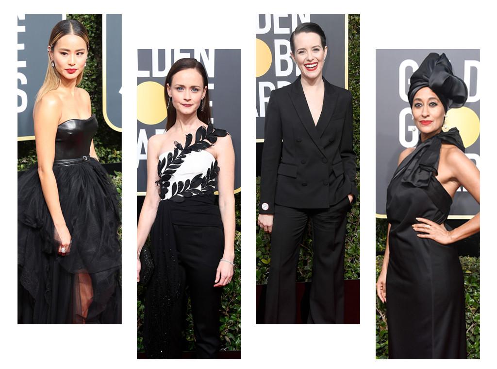 ESC: Golden Globe Awards, Black Dresses