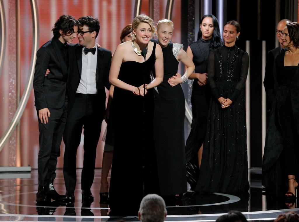 Greta Gerwig, Lady Bird, 2018 Golden Globes, Winners