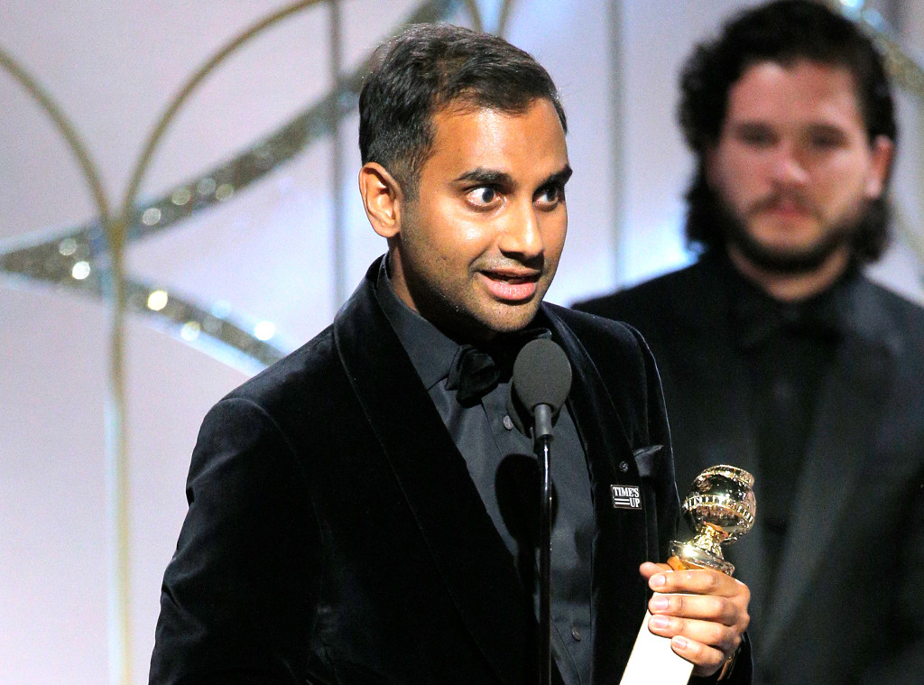 Aziz Ansari, 2018 Golden Globes, Winners