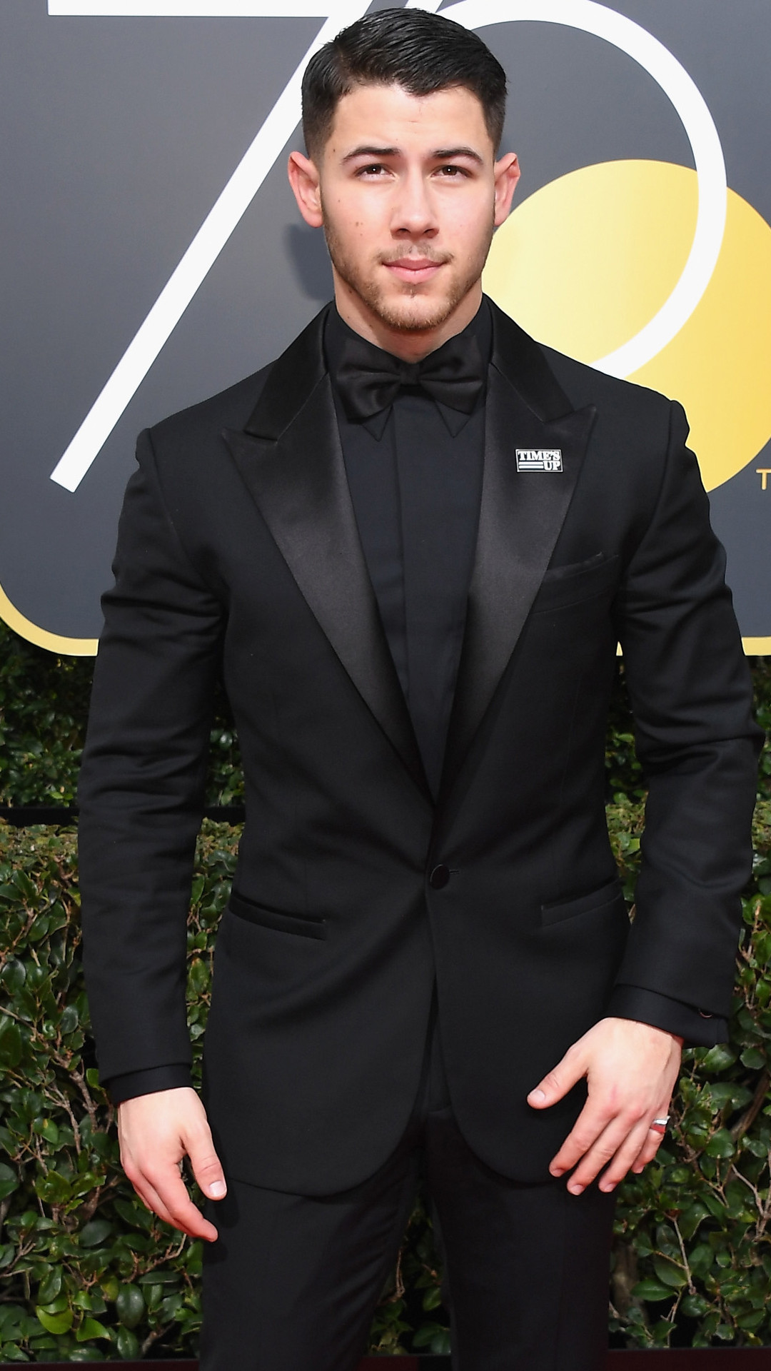 Nick Jonas, 2018 Golden Globes, Red Carpet Fashions
