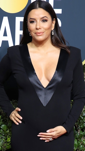 Eva Longoria, 2018 Golden Globes, Red Carpet Fashions