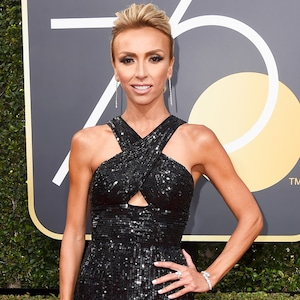 Giuliana Rancic, 2018 Golden Globes, Red Carpet Fashions
