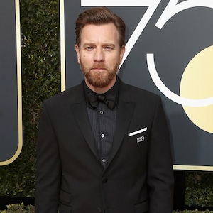 Ewan McGregor, 2018 Golden Globes, Red Carpet Fashions