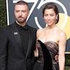 Justin Timberlake, Jessica Biel, 2018 Golden Globes, Couples