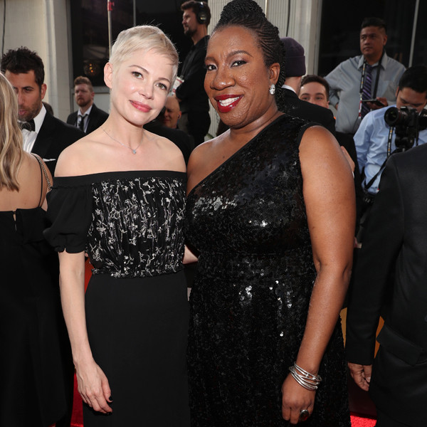 Michelle Williams, Tarana Burke, 2018 Golden Globes