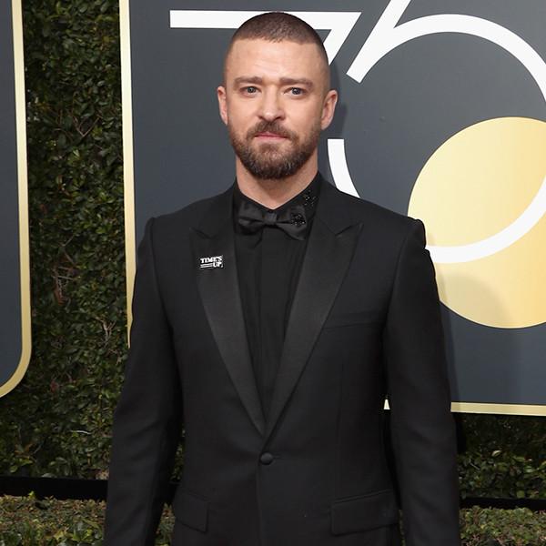 Justin Timberlake, 2018 Golden Globes, Red Carpet Fashions