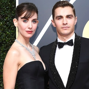 Allison Brie, Dave Franco, 2018 Golden Globes, Couples