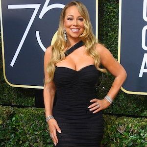 Mariah Carey, 2018 Golden Globes, Red Carpet Fashions