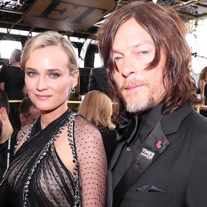 Diane Kruger, Norman Reedus, 2018 Golden Globes, Couples