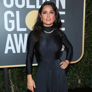 Salma Hayek, 2018 Golden Globes, Red Carpet Fashions