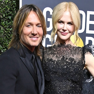 Keith Urban, Nicole Kidman, 2018 Golden Globes, Couples