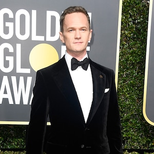 Neil Patrick Harris, 2018 Golden Globes, Red Carpet Fashions