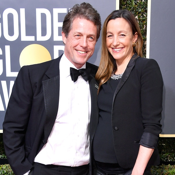 Hugh Grant & Anna Eberstein Tie the Knot in London!