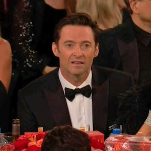 James Franco, Hugh Jackman, 2018 Golden Globes, GIF