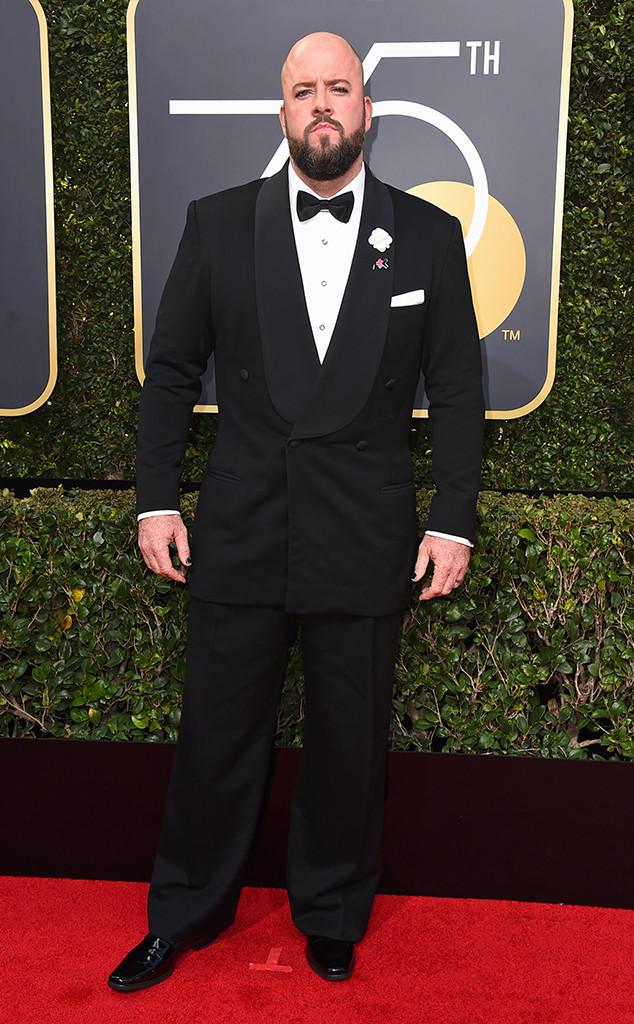 Chris Sullivan, 2018 Golden Globes, Red Carpet Fashions