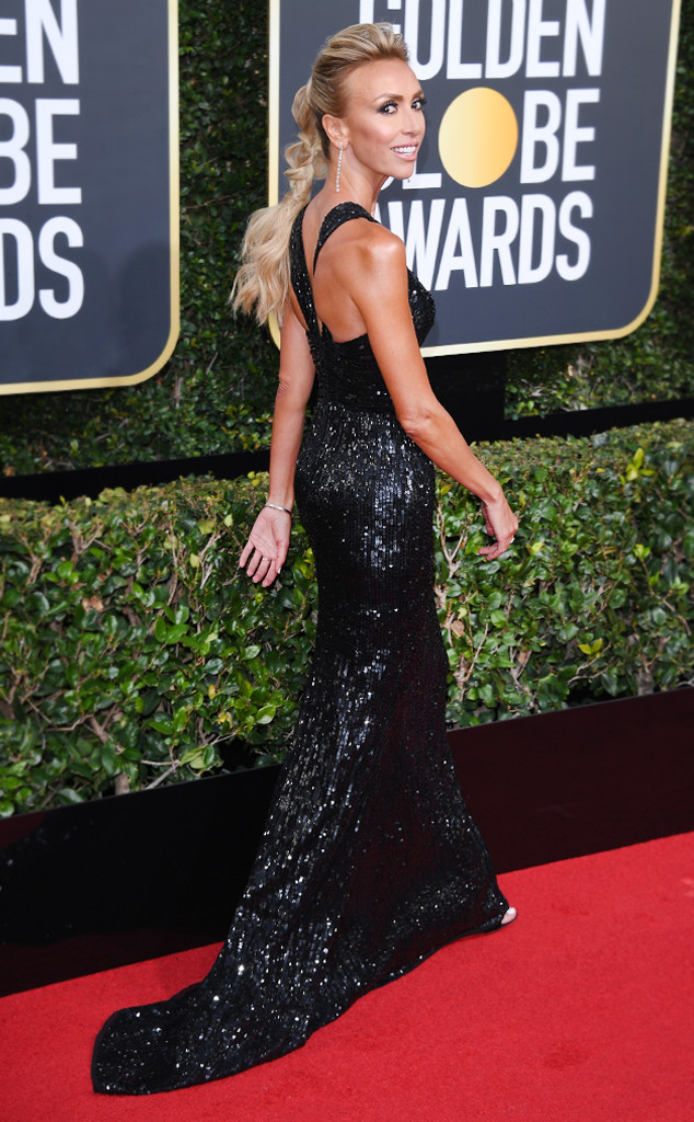 ESC: Giuliana Rancic, 2018 Golden Globes