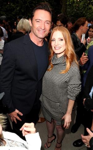Hugh Jackman, Jessica Chastain, Party Pics