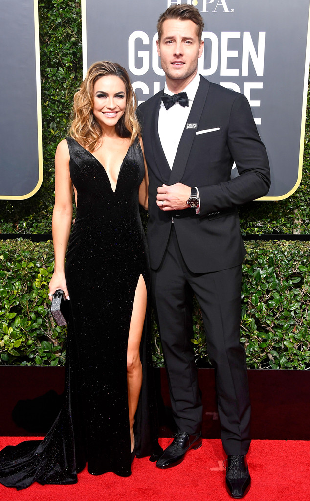 Chrishell Stause, Justin Hartley, 2018 Golden Globes, Couples