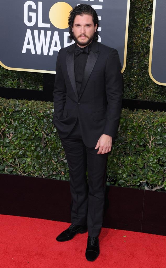 Kit Harrington, 2018 Golden Globes, Red Carpet Fashions