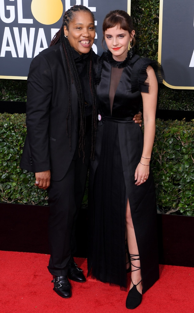 Emma Watson, Marai Larasi, 2018 Golden Globes