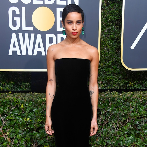 Zoe Kravitz Oscars Bra: Zoë Kravitz From 2018 Golden Globes Red Carpet Fashion