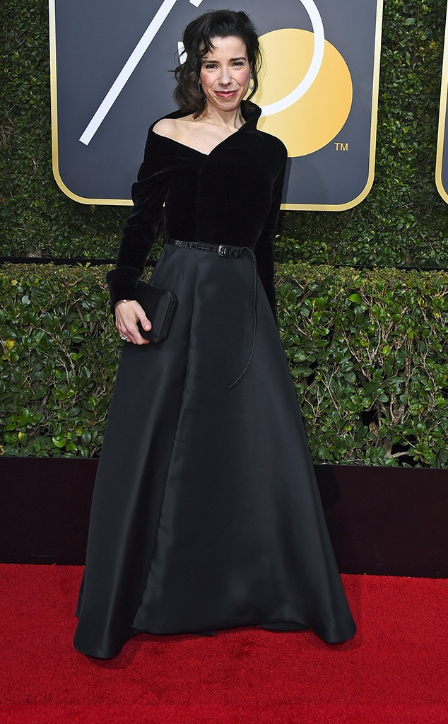 Sally Hawkins, 2018 Golden Globes, Red Carpet Fashions