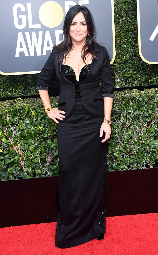 Pamela Adlon, 2018 Golden Globes, Red Carpet Fashions
