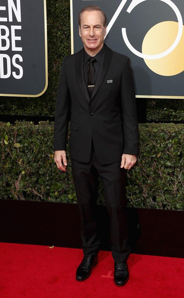 Bob Odenkirk, 2018 Golden Globes, Red Carpet Fashions