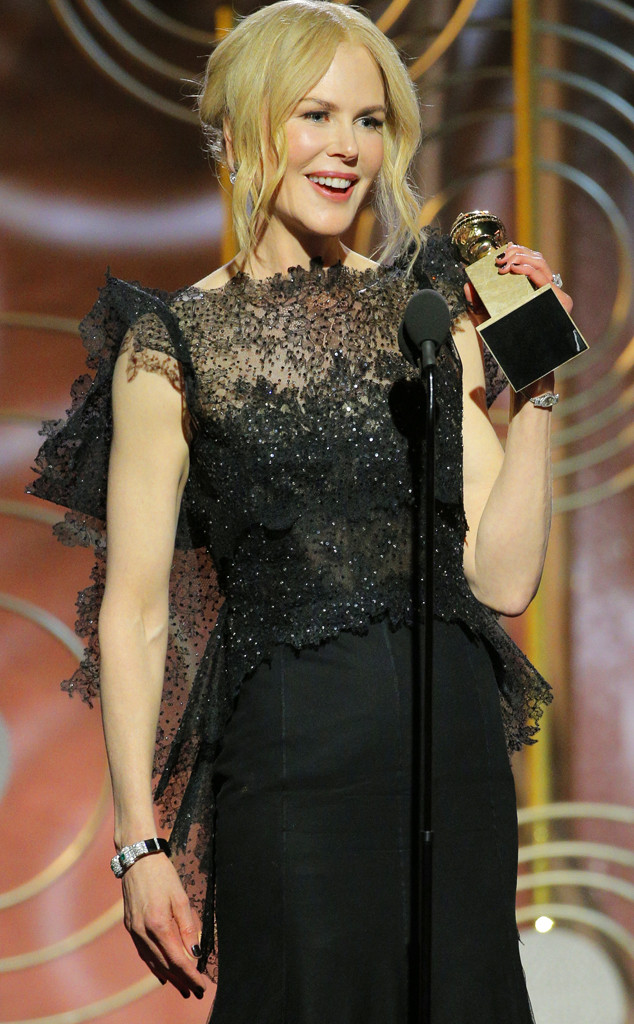 Nicole Kidman, 2018 Golden Globes, Winners
