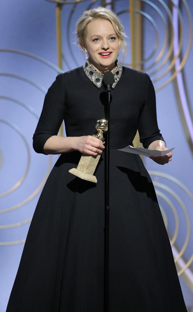 Elisabeth Moss, 2018 Golden Globes, Winners
