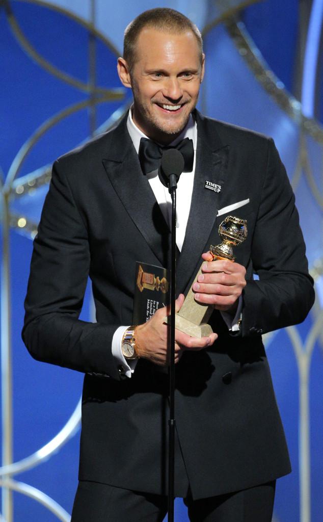 Alexander Skarsgard, 2018 Golden Globes, Winners