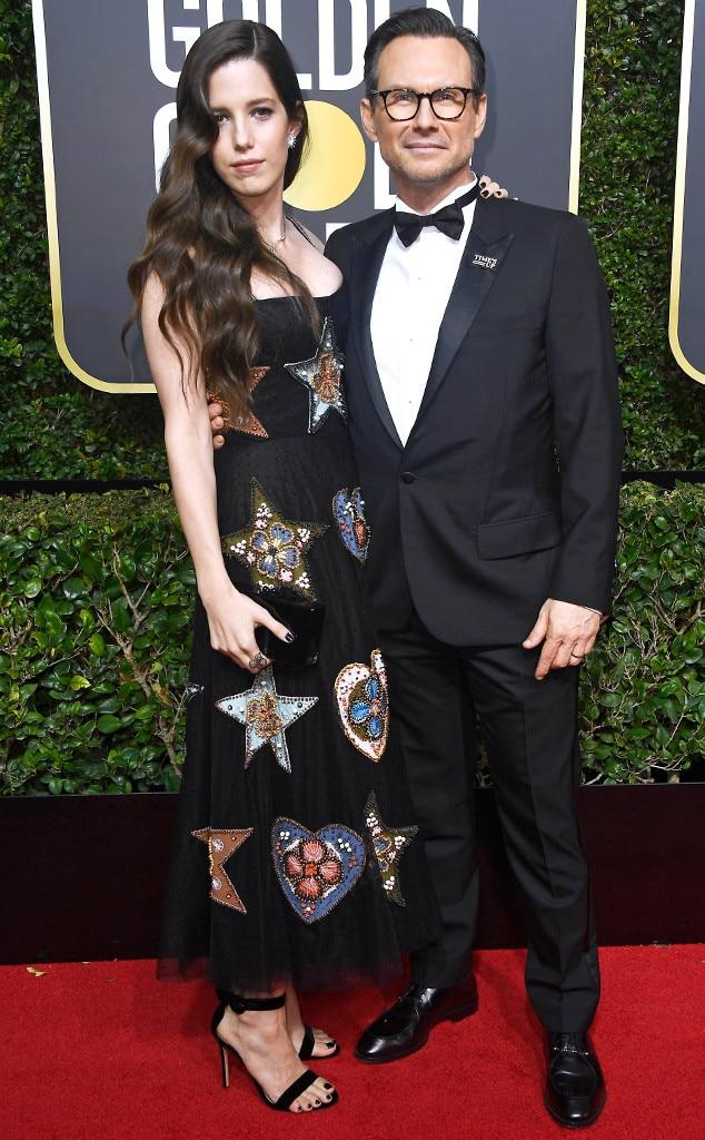 Greta Gerwig & Noah Baumbach from Couples at Golden Globes