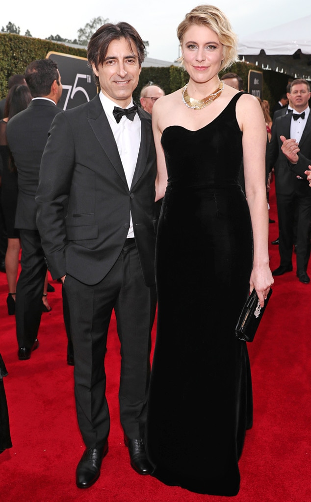 Noah Baumbach, Greta Gerwig, 2018 Golden Globes, Couples