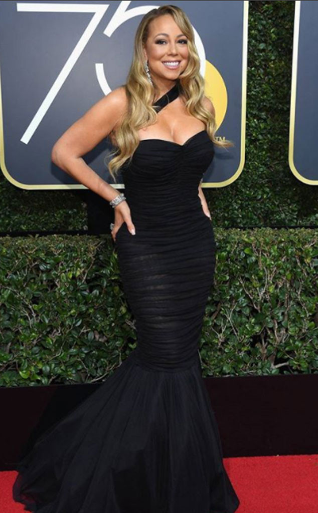 Mariah Carey, 2018 Golden Globes