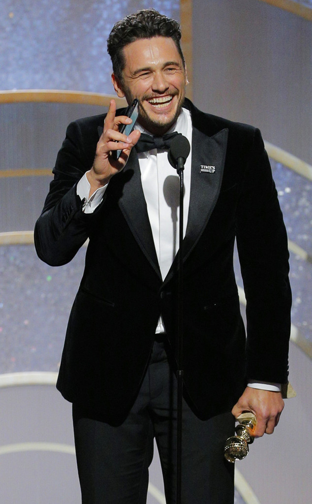 James Franco, 2018 Golden Globes, Winners