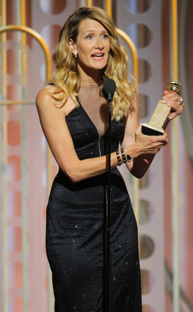 Laura Dern, 2018 Golden Globes, Winners