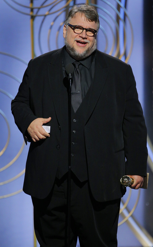 Guillermo del Toro, 2018 Golden Globes, Winners