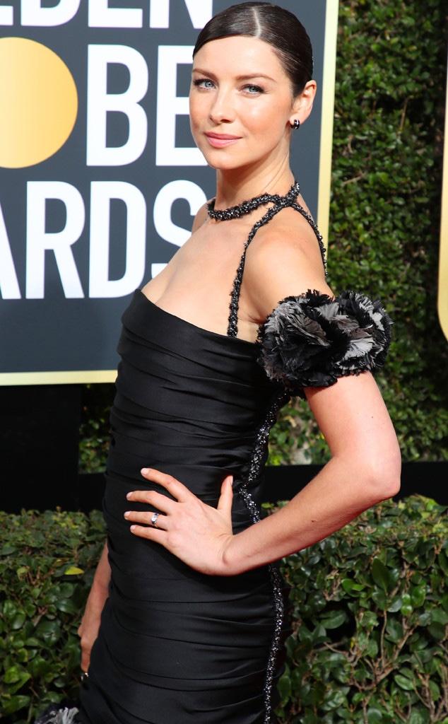 Caitriona Balfe, 2018 Golden Globes
