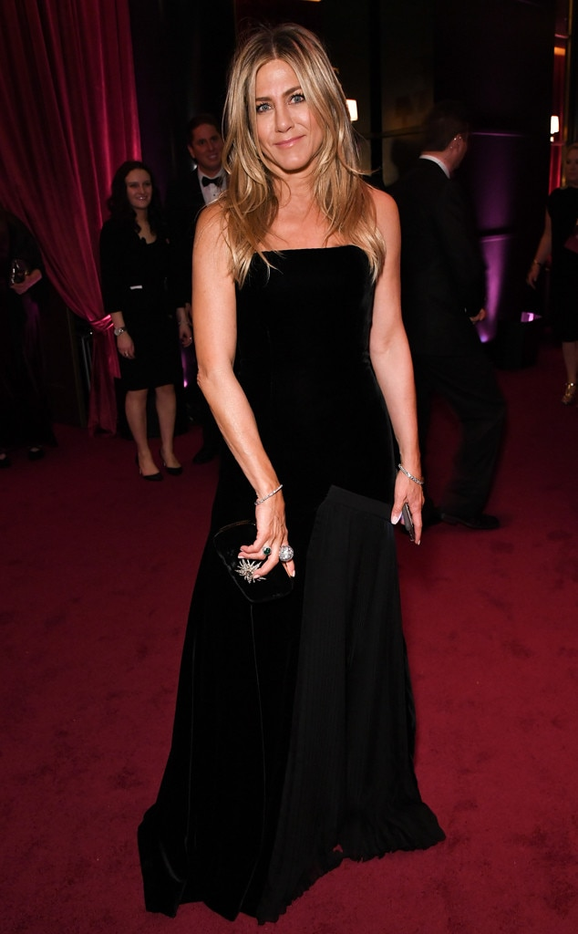 Jennifer Aniston, 2018 Golden Globes, Party Pics